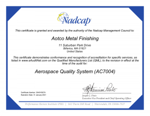What Does It Mean To Be a Nadcap Certified Gold Plater?