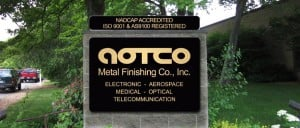 Electroplating services from AOTCO